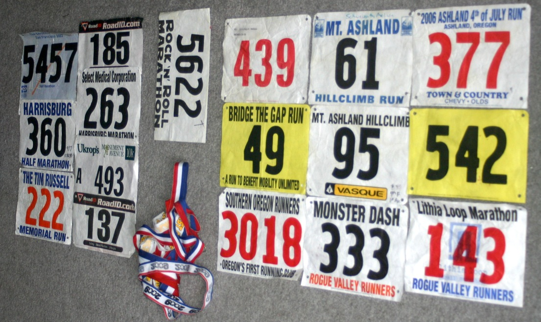 1 Gather Race Bibs And Ribbon